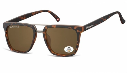 Okulary montana mp45b polaryzacyjne panterka-brąz