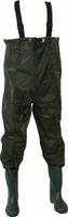 Wodery wędkarskie - Spodnie rybackie z butami rozmiar 45
