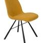 Zuiver :: krzesło brent musztardowe