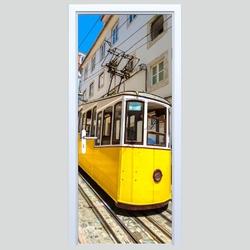 Naklejka na drzwi tramwaj 250s