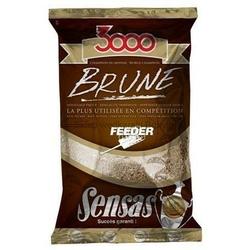 Zanęta Sensas 3000 Brune Feeder 1kg