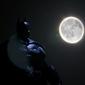 Batman w świetle księżyca - plakat wymiar do wyboru: 70x50 cm