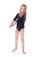 Shepa body gimnastyczne lycra b1 rękaw 34