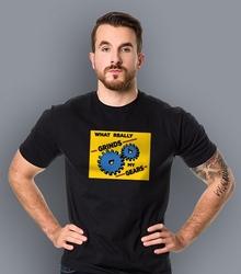 Family guy -  grind my gears t-shirt męski czarny l
