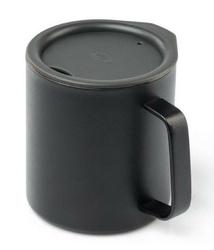 Kubek termiczny gsi glacier stainless camp cup 444 ml - czarny