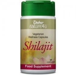 Shilajit dabur 60 kapsułek - suplement diety przełam zmęczenie