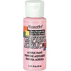 Farba akrylowa Crafters Acrylic 59 ml- różowy kwiat wiśni - RKW