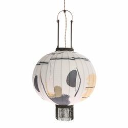 HK Living :: Lampa wisząca lampion tradycyjna M brush - wielokolorowy