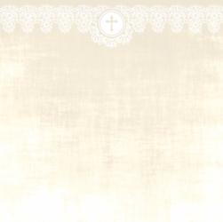 Papier do scrapbookingu Komunia Święta 15x15 cm 02 - 02