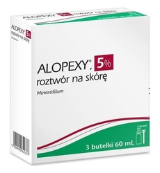 Alopexy 50mgml roztwór na skórę 3 butelki x 60ml