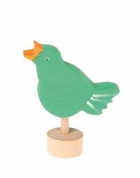 Drewniana figurka, Śpiewający Ptaszek, Grimms