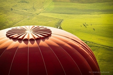 Lot balonem - biebrzański park narodowy