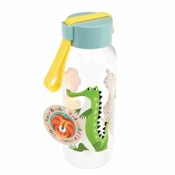 Butelka na wodę 340 ml, Kolorowe Zwierzaki, Rex London - kolorowe zwierzaki