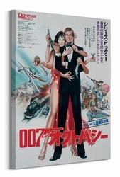 James Bond Octopussy Foreign Language - Obraz na płótnie