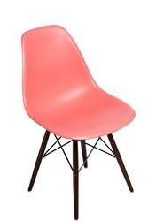 Krzesło p016w pp inspirowane dsw dark - pomarańczowy