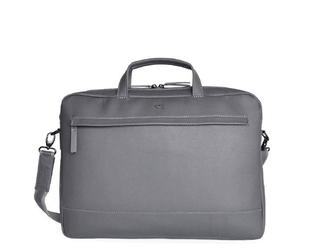 Skórzana torba na laptopa 15 unisex daag shaker 20 szara