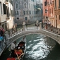 Wenecja, gondola - fototapeta