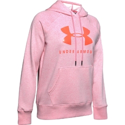 Bluza damska under armour fleece sportstyle graphic hoodie - różowy