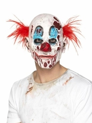 Maska zły klaun clown halloween zombie