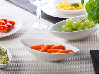 Półmisek  salaterka owalna porcelana altom design regular 24 cm