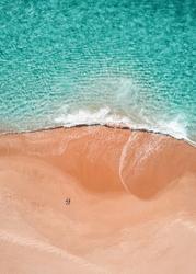 Lato na plaży - plakat