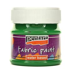 Farba do tkanin Pentart 50 ml - zielony - ZIEL