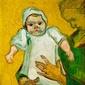 Madame roulin and her baby, vincent van gogh - plakat wymiar do wyboru: 20x30 cm