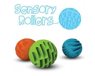 Sensoryczne kule fat brain toys bobo - 3 szt.
