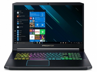 Acer Notebook Helios 300 NH.Q5PEP.010 WIN10Home i7-9750H4GB+4GB512GBSSD1000GB HDDGTX1660Ti 6GB17.3 FHD