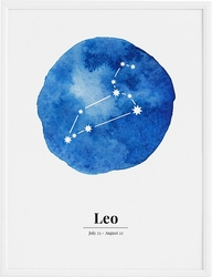 Plakat Leo 50 x 70 cm