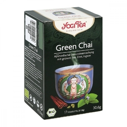 Yogi tea green chai bio filterbeutel