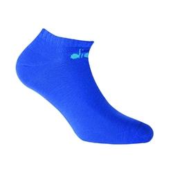 Skarpetki męskie diadora invisible 3-pack - niebieski