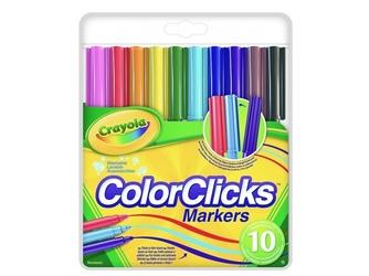 Markery pisaki color clicks 10 szt.