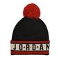 Czapka zimowa air jordan beanie cuffed pom - ck1264-010 - 010
