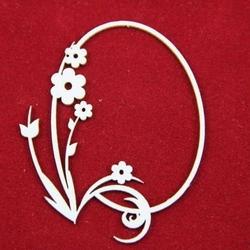 Dekoracyjna ramka Primavera z kwiatami - 01 - 02