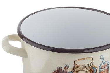 Elopol garnek emaliowany 16 cm apetita indukcja