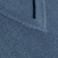 Niebieski sweter profuomo sky blue z wełny pique z dekoltem typu v - rozmiar m m