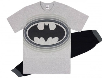 Męska piżama batman logo  dc comics  l