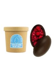 Czekoladowa bomba ciemna z malinami i chili - gorąca czekolada z kubkiem prezent na wielkanoc