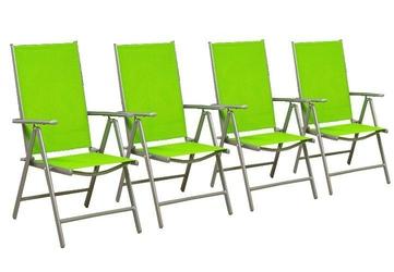 Krzesła składane zestaw 4 sztuk