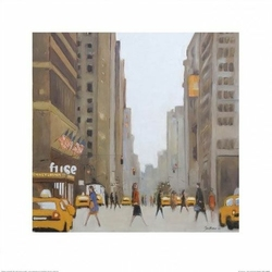 New York ulica - reprodukcja