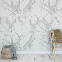 Tapeta na ścianę - marble grey , rodzaj - tapeta flizelinowa