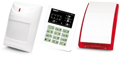 Alarm satel ca-6 led, 5xaqua plus, syg. zew. sp-4001 - możliwość montażu - zadzwoń: 34 333 57 04 - 37 sklepów w całej polsce