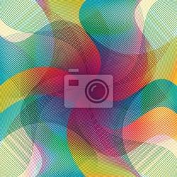 Fototapeta kolorowe linie, tło, artystyczne