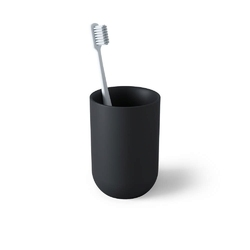 Umbra - kubek łazienkowy junip, czarny - czarny