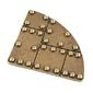 Metalowa dekoracja - narożnik 4,3 cm - 05