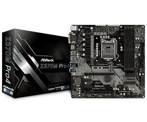 ASRock Z370M Pro4 s1151 4DDR4 USB3.1DVIHDMIM.2 uATX