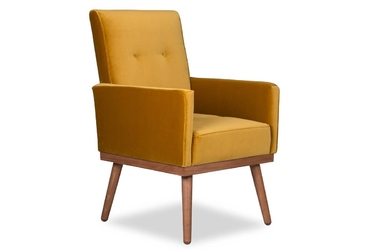 Krzesło klematisar welurowe deluxe - welur łatwozmywalny peacock