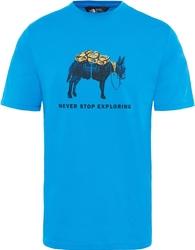 T-shirt męski the north face tansa t92s7zluu