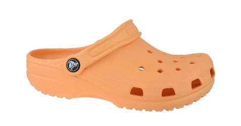 Crocs crocband clog k 204536-801 2526 pomarańczowy